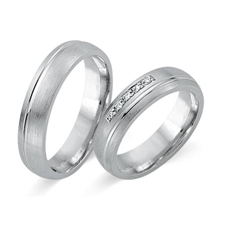 Hochzeitsringe Weissgold Fides Cilor 8437